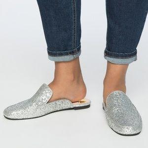Eloquii Selena Glitter Mule